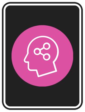 Työkyky-teeman tehtäväkortteja kuvaava työkyky-symbolin sisältävä pelikortti